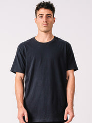DESTROYED PIMA TEE BLACK