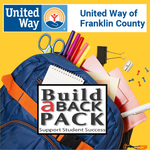 United Way of Franklin County Build a Backpack