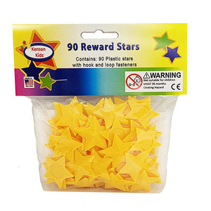 """I Can Do It!"" Reward Chart Supplemental Star Pack of 90 by Kenson Kids"
