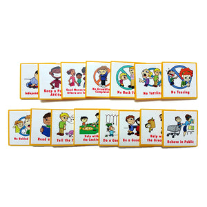 """I Can Do It!"" Reward Chart Supplemental Behavior/Family Pack by Kenson Kids - Kenson Parenting Solutions"