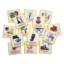"Load image into Gallery viewer, ""I Can Do It!"" Reward Chart Supplemental Christian Living Pack by Kenson Kids"