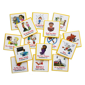 """I Can Do It!"" Reward Chart Supplemental Christian Living Pack by Kenson Kids"