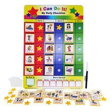 "Load image into Gallery viewer, ""I Can Do It"" My Daily Checklist by Kenson Kids"