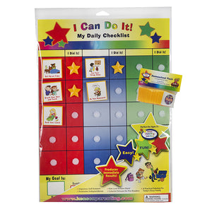"""I Can Do It"" My Daily Checklist/ School Subjects Bundle by Kenson Kids"