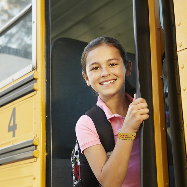 Field Trip Safety ID Bands by Kenson Kids - Kenson Parenting Solutions
