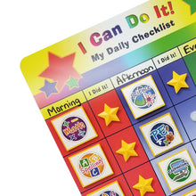 "Load image into Gallery viewer, ""I Can Do It"" My Daily Checklist/ School Subjects Bundle by Kenson Kids"