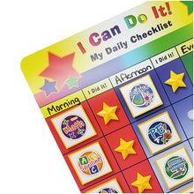 "Load image into Gallery viewer, ""I Can Do It!"" Reward Chart Supplemental School Subject Pack by Kenson Kids"