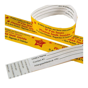 Safety Travel ID Bands by Kenson Kids - Kenson Parenting Solutions