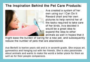 """I Can Do It!"" Supplemental Cat Care Pack by Kenson Kids - Kenson Parenting Solutions"