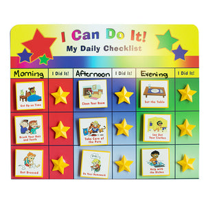 I Can Do It! My Daily Checklist Supplemental Pack Bundle by Kenson Kids - Kenson Parenting Solutions