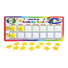 "Load image into Gallery viewer, ""I Can Do It!"" Tooth Brushing Chart by Kenson Kids - Kenson Parenting Solutions"