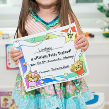 "Load image into Gallery viewer, ""I Did It"" Potty Training Certificate by Kenson Kids - Kenson Parenting Solutions"