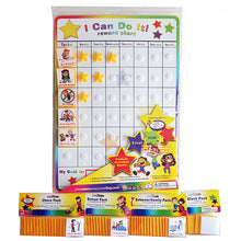 Load image into Gallery viewer, I Can Do It! Reward Chart Supplemental Pack Bundle by Kenson Kids - Kenson Parenting Solutions
