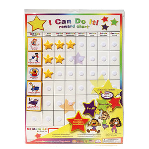 "Spanish ""I Can Do It!"" Reward Chart - Kenson Parenting Solutions"
