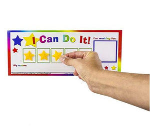 """I Can Do It!"" Star Token Board Incentive Chart by Kenson Kids"