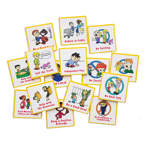 """I Can Do It!"" Reward Chart Supplemental Behavior/Family Pack by Kenson Kids"