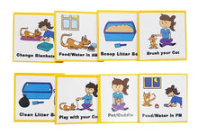 Load image into Gallery viewer, Kid Inspired Cat Care Chart by Kenson Kids