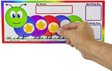 "Load image into Gallery viewer, ""I Can Do It!"" Token Board Caterpillar Incentive Chart by Kenson Kids - Kenson Parenting Solutions"