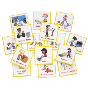 """I Can Do It!"" Reward Chart Supplemental Chore Pack by Kenson Kids"