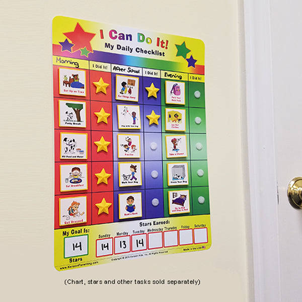 """I Can Do It!"" Supplemental Dog Care Pack by Kenson Kids - Kenson Parenting Solutions"