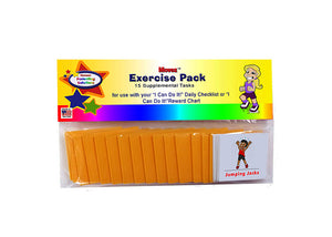 """I Can Do It!"" Reward Chart Supplemental Exercise Pack by Kenson Kids - Kenson Parenting Solutions"