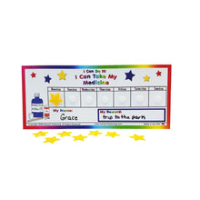 "Load image into Gallery viewer, ""I Can Do It!"" Medicine Chart by Kenson Kids - Kenson Parenting Solutions"