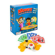 Load image into Gallery viewer, Movez™ The Game that Gets Kids Moving! - Kenson Parenting Solutions