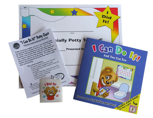 """I Can Do It!"" Potty Training Chart System by Kenson Kids - Kenson Parenting Solutions"