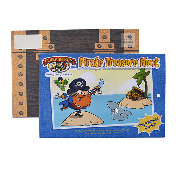 Pirate Treasure Hunt by Clued in Kids - Kenson Parenting Solutions