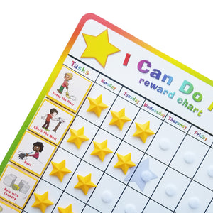 """I Can Do It!"" Reward Chart Supplemental Chore Pack by Kenson Kids - Kenson Parenting Solutions"