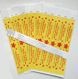 Travel ID pack of 25