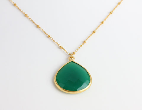 diana teardrop necklace