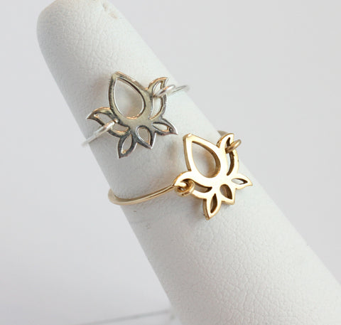 lindsy lotus ring