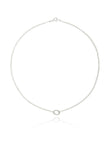 ginette small oval necklace