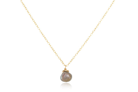 paigey drop necklace