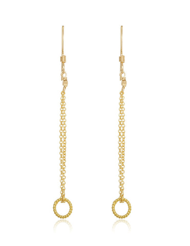 georgina loop earring