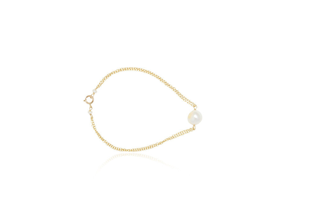 melinda single pearl bracelet