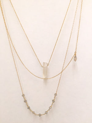 eisa 3 strand necklace
