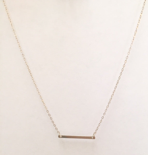 grace small bar necklace