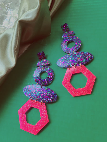 Supernova Nova Girl Earring