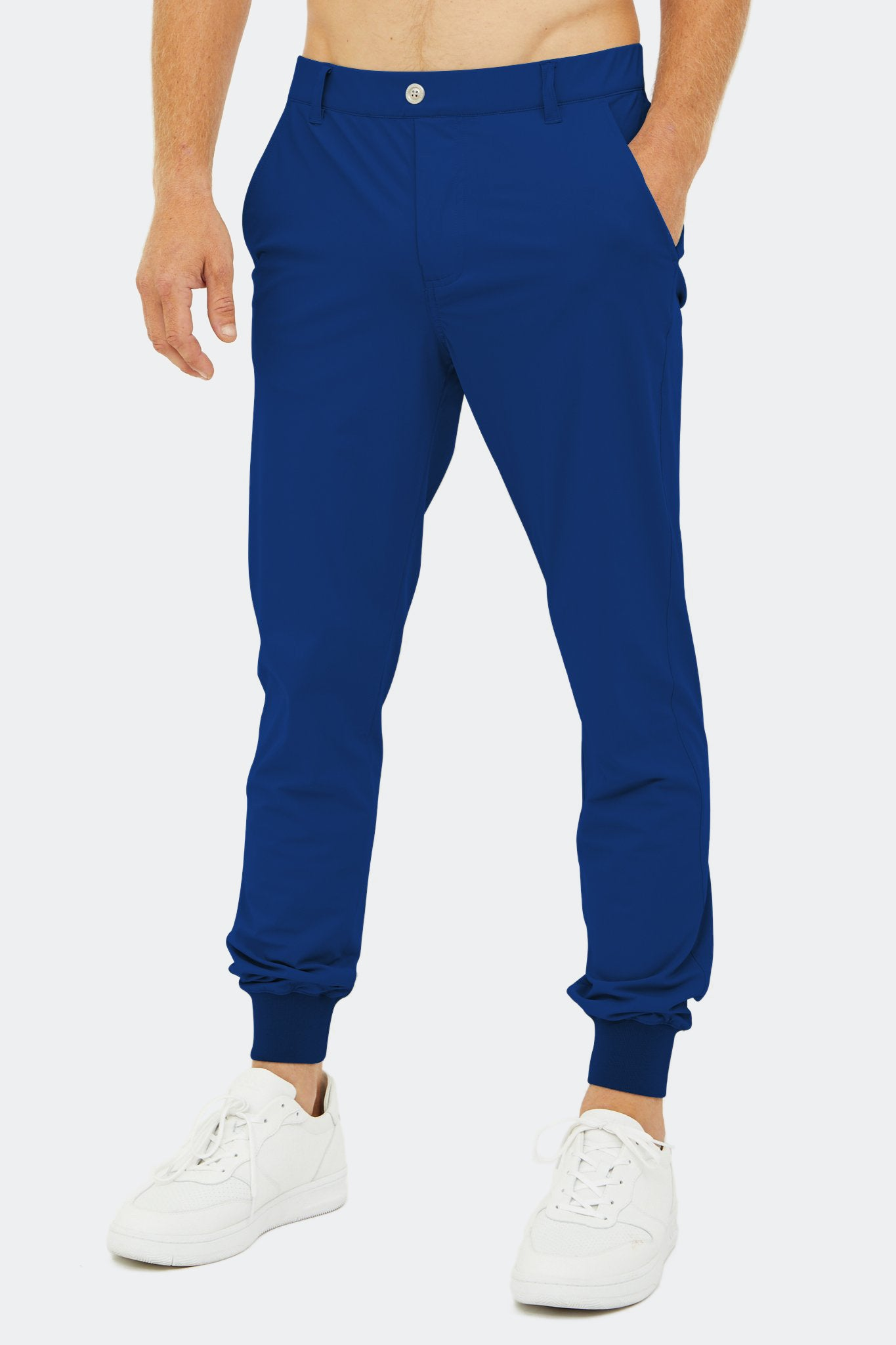 Halliday Pull-On Jogger in Estate Blue