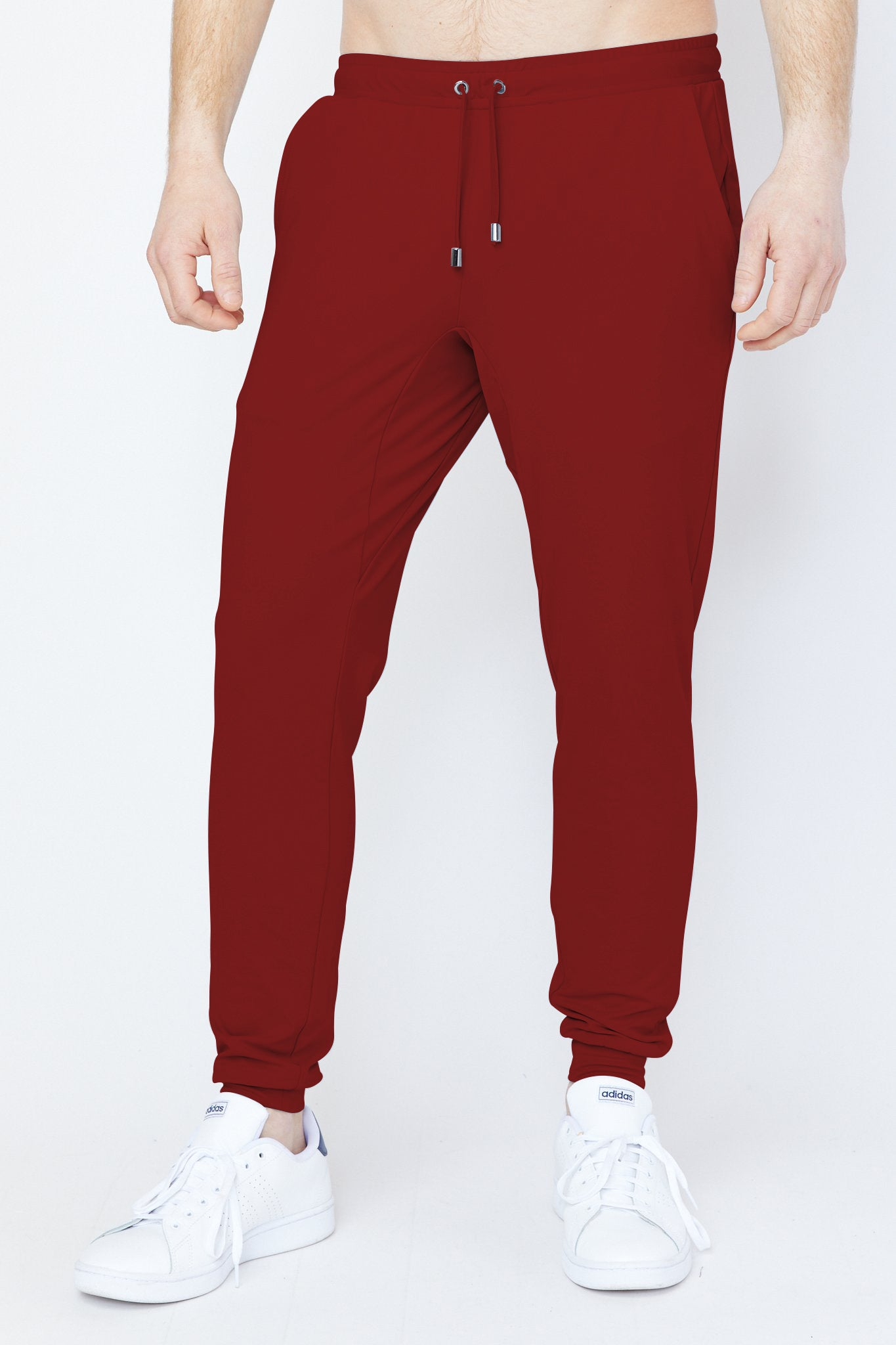 Donahue Jogger in Maroon