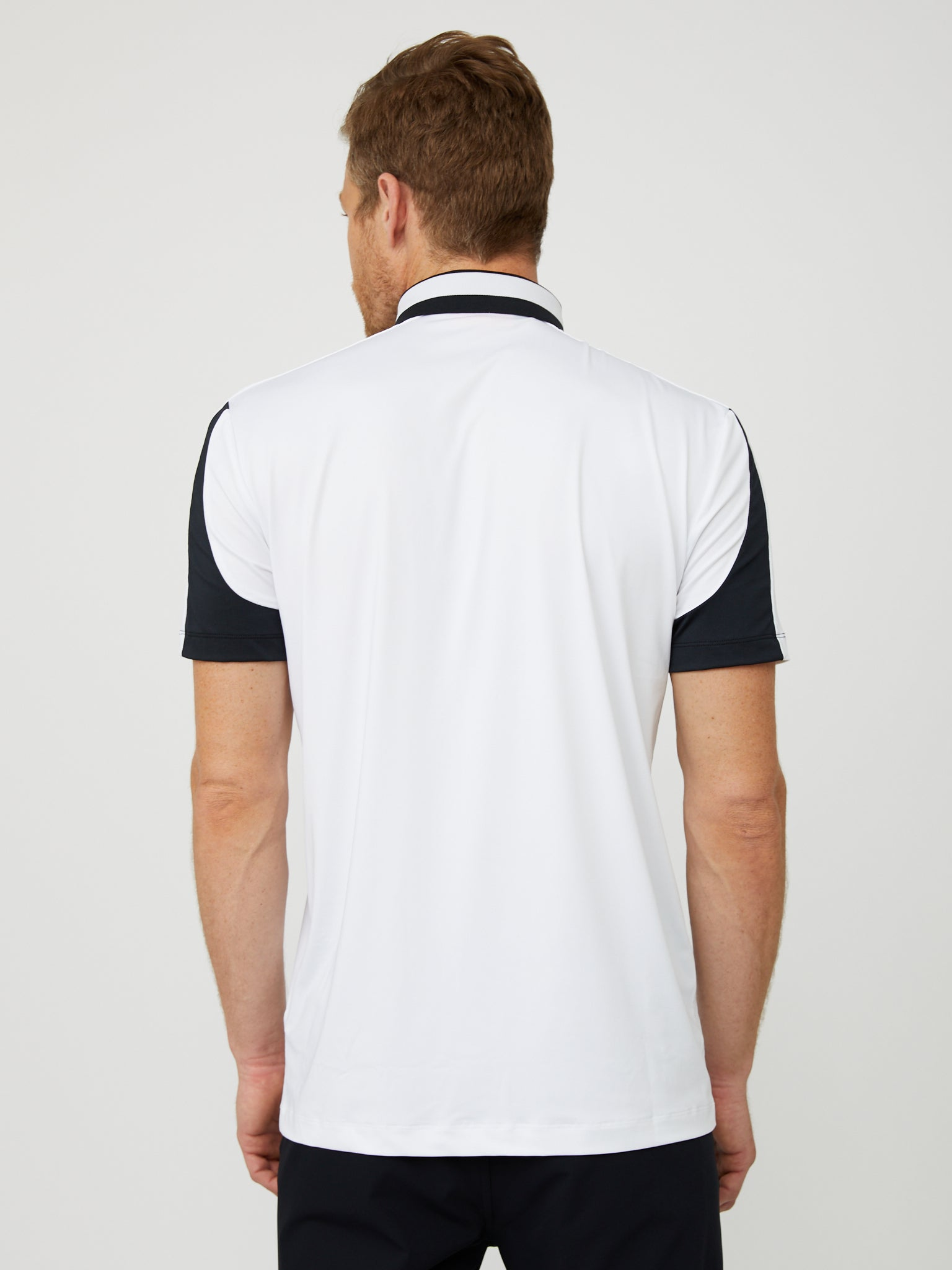 Madison Polo in White/Black