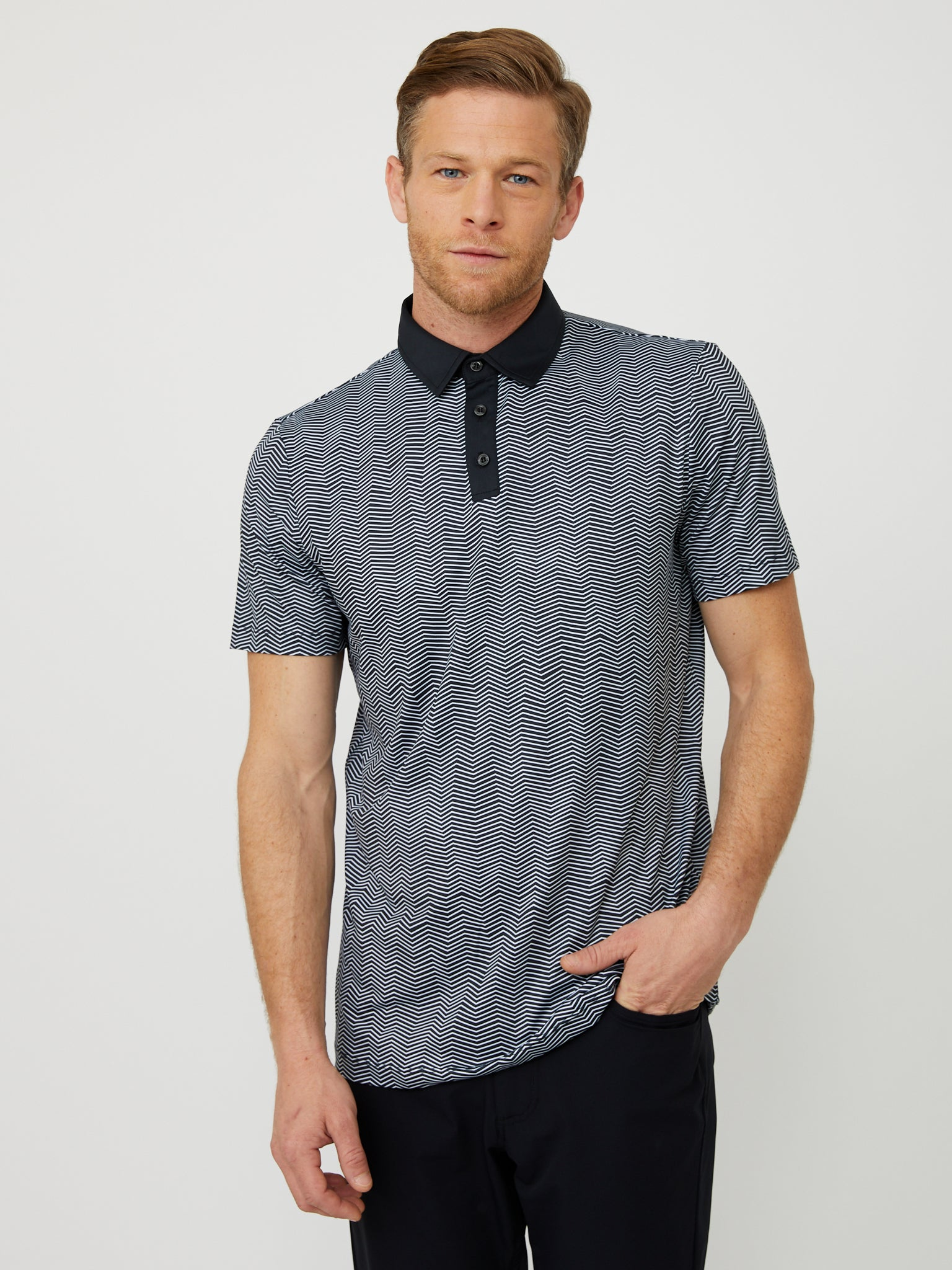 Isola Polo in Black