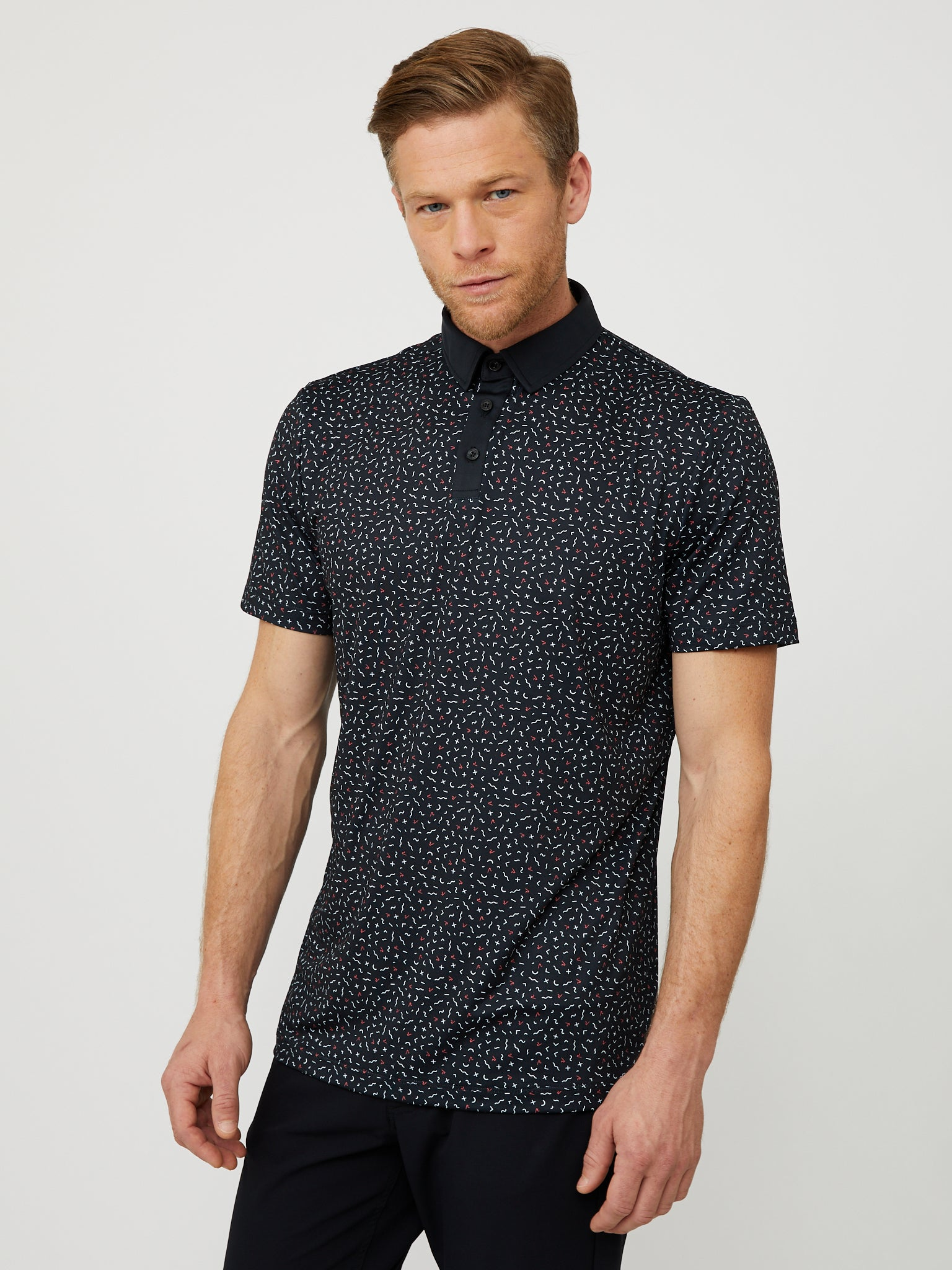 Stanley Polo in Black/Multi