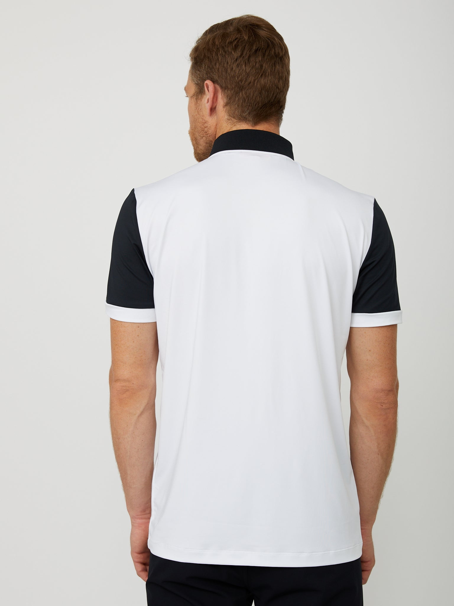 Lloyd Polo in White/Black