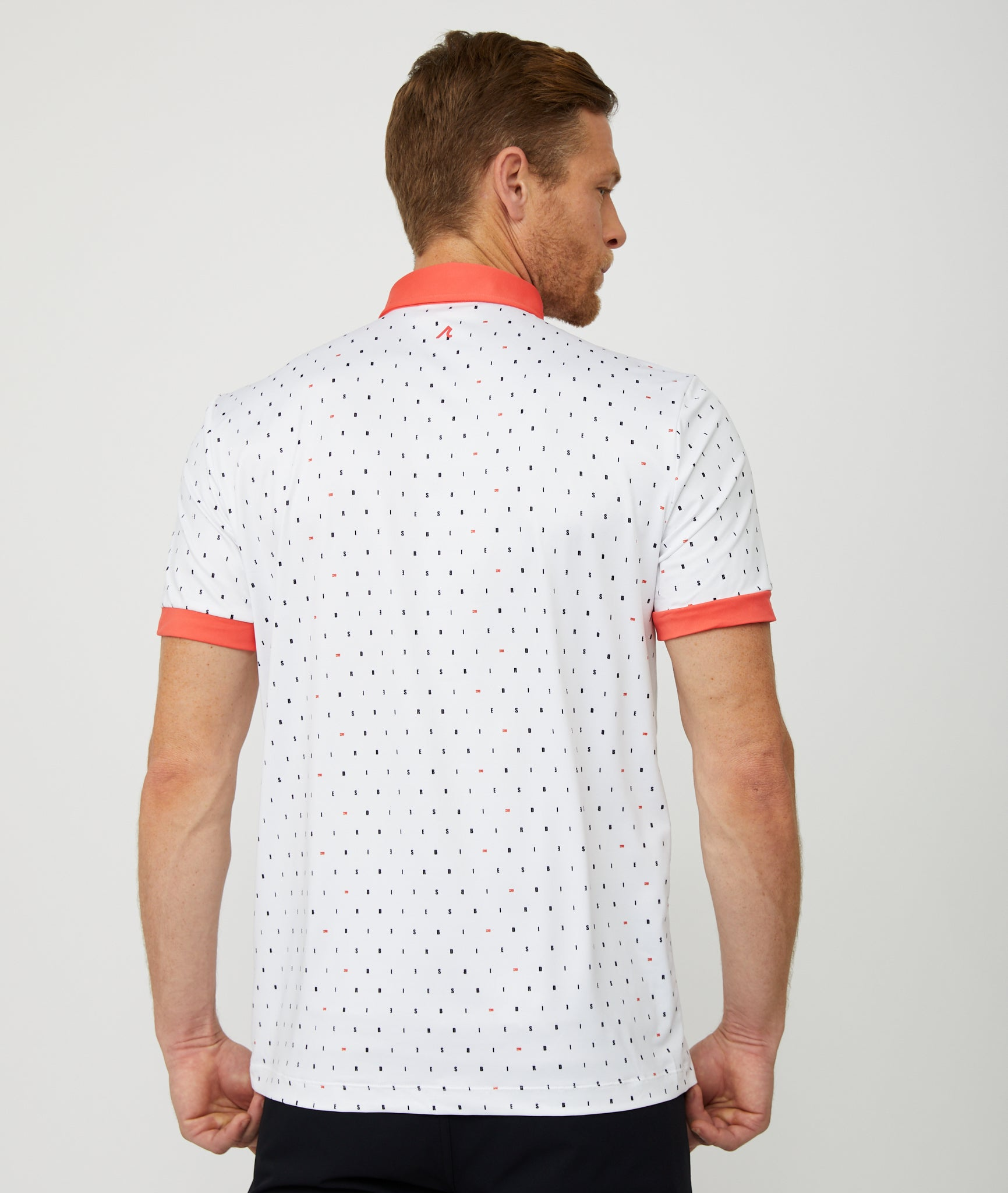 Birdies Polo in White/Multi