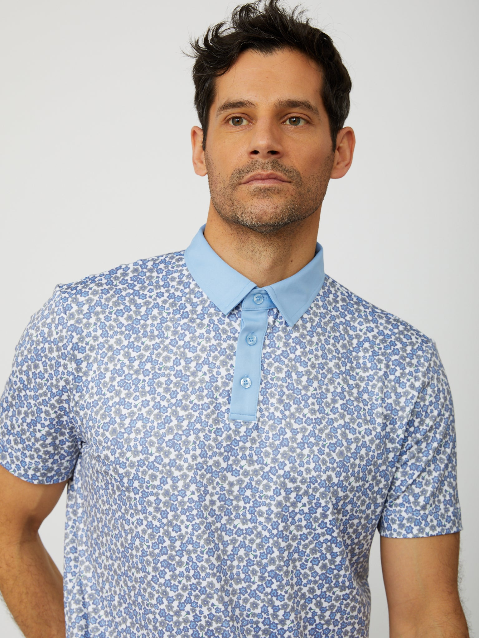 Fitch Polo in Placid Blue/Multi