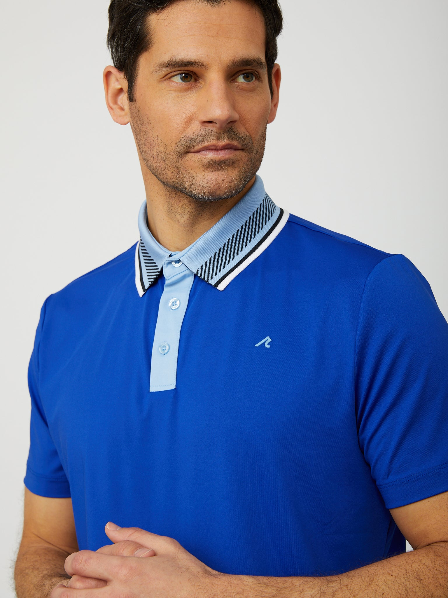 Truet Polo in Reflex Blue
