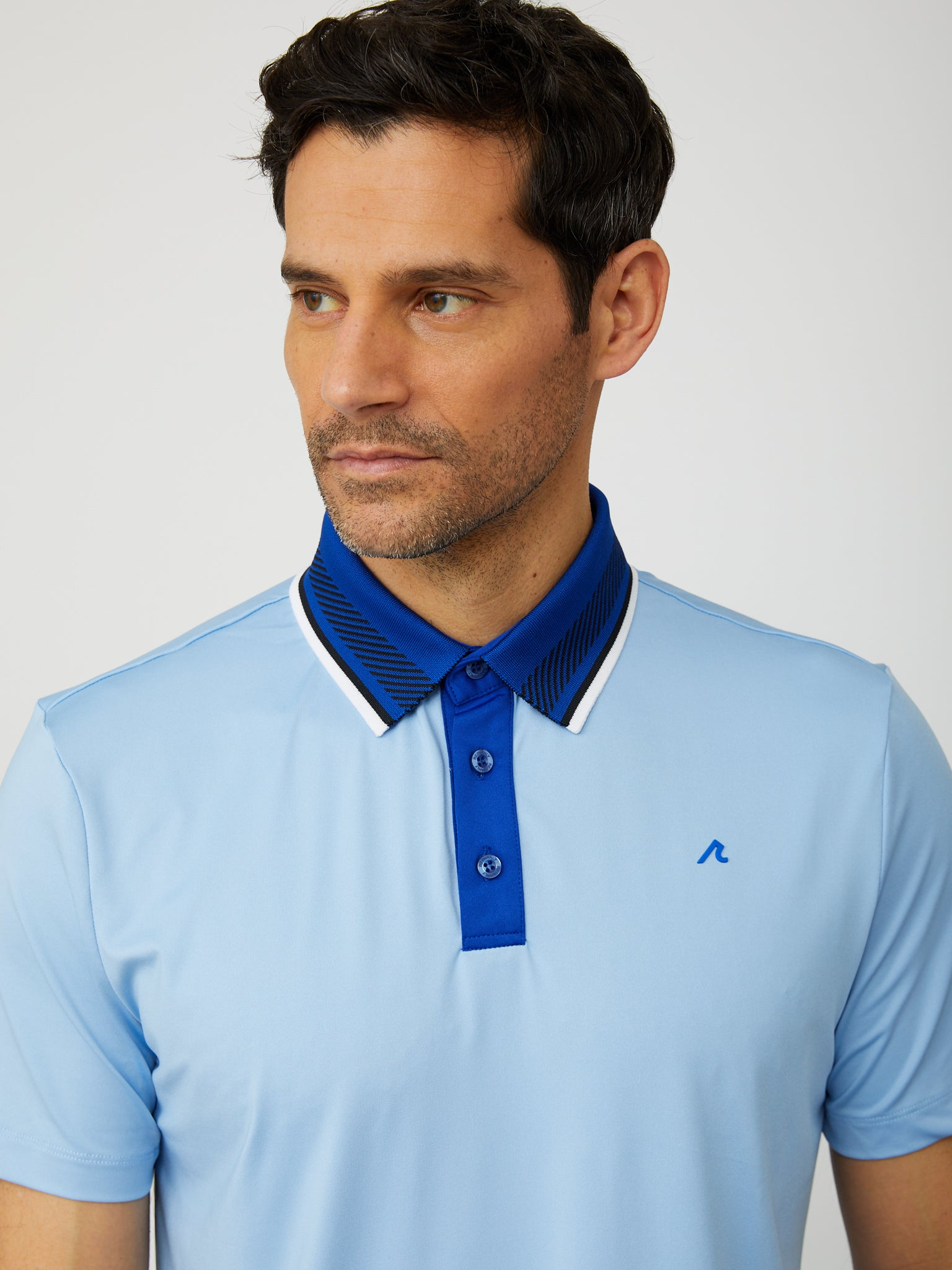 Truet Polo in Placid Blue